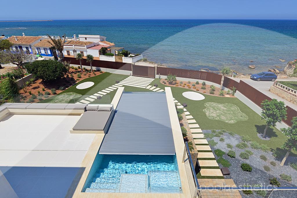 Capotas para piscinas de tama o personalizado xl pool for Constructor piscinas